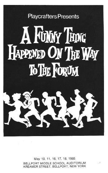 A Funny Thing Happened On The Way To The Forum-1985
