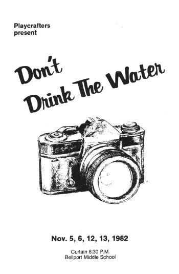 Don't Drink The Water-1982