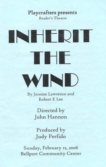 Inherit The Wind (Dramatic Reading)-2006