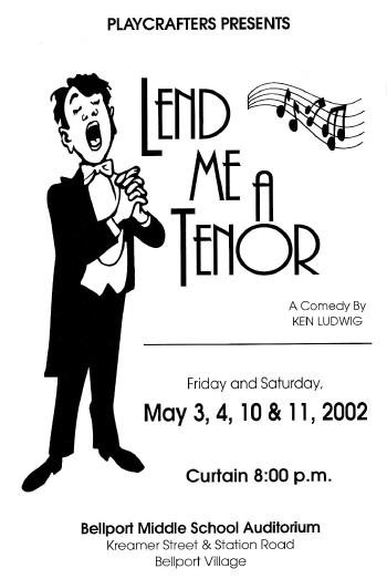 Lend Me A Tenor-2002