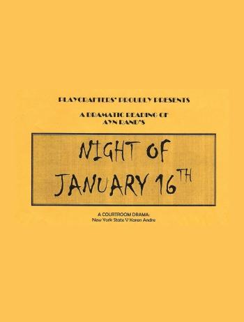 Night Of January 16th (Dramatic Reading)-2001