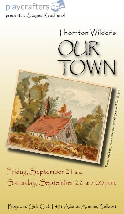 Our Town (staged Reading)-2012