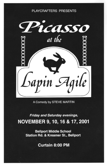 Picasso At The Lapin Agile-2001