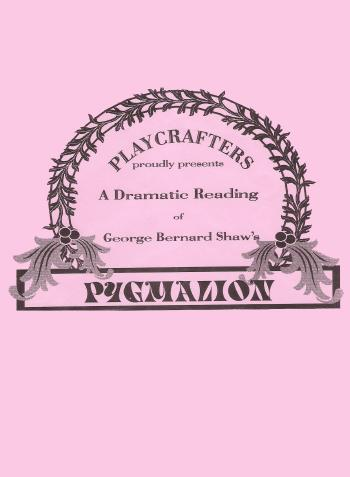 Pygmalion (Dramatic Reading)-2000