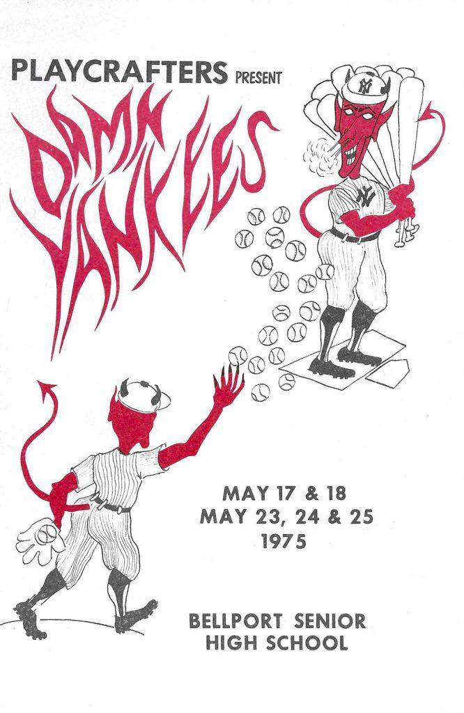 Damn Yankees -1975-cover